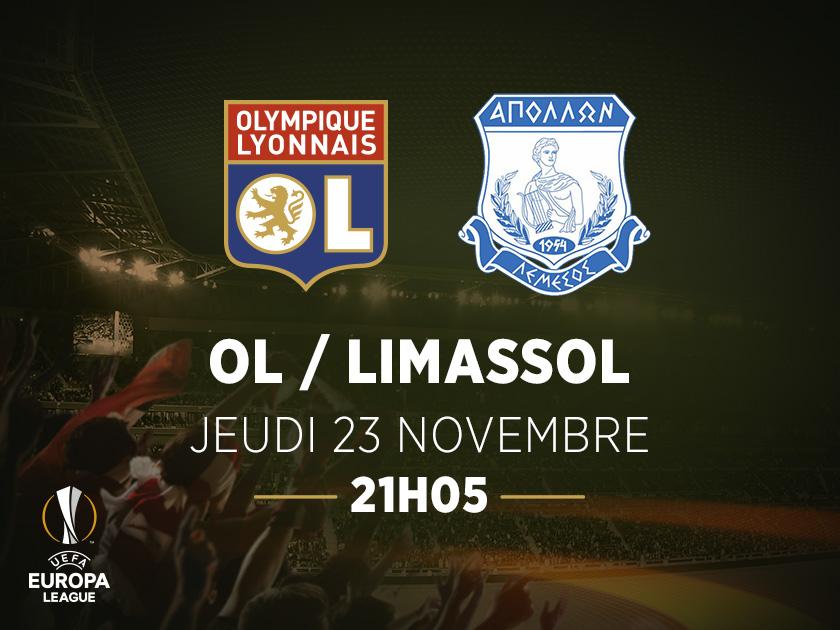 Affiche OL-Limassol