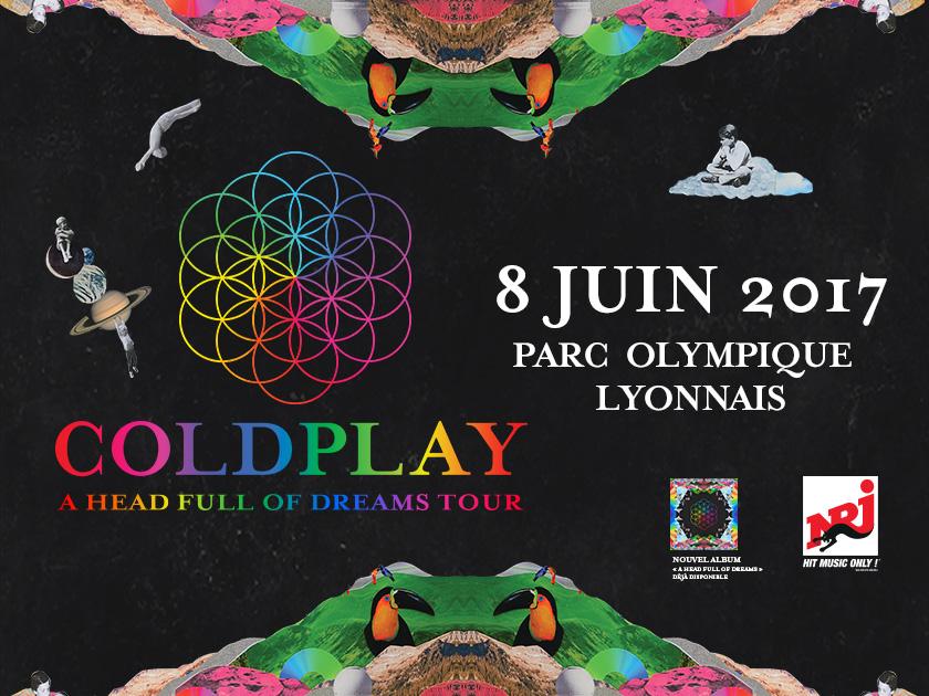 Concert Coldplay Lyon 08 Juin 2017 Parc Olympique Lyonnais