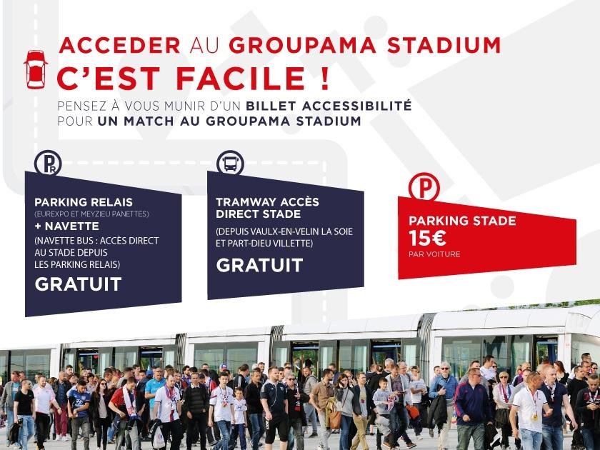 Ol  Rennes  Vos Accs Au Groupama Stadium Pour Le  Fvrier