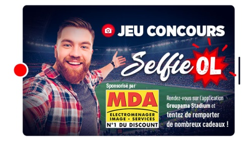 Jeu selfie OL